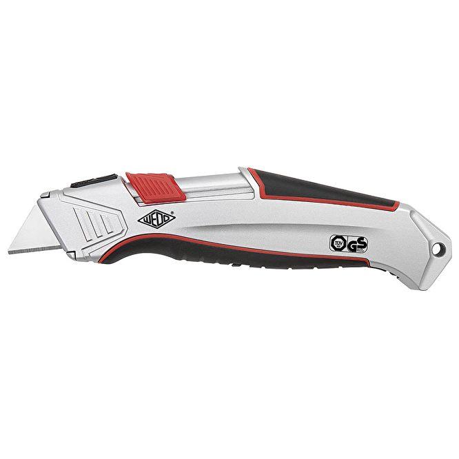 Trapezklinge WEDO Safety-Cuttermesser Profi Pocket schwarz//rot